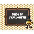 Bingo de l'Halloween - Mathématique