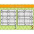 70 sudokus - 4 niveaux de difficulté