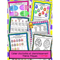 Cahier d'activités et d'enrichissement - Pâques