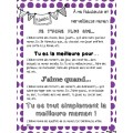 Fête des mères - Flipbook (livret à cachettes)