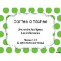 Ensemble grandissant - Cartes à tâches (français)