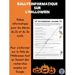 Rallye informatique - L'Halloween