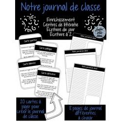 Notre journal de classe