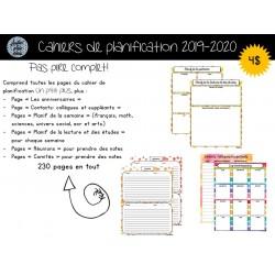 Cahier de planification 2019-2020 Pas pire complet