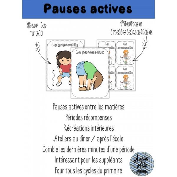 Pauses actives - Bouge ton cerveau!