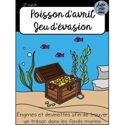 Jeu d'évasion - Trésor dans les fonds marins