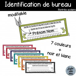 Identification de bureau