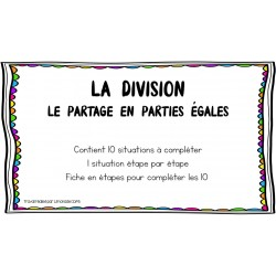 La division (le partage)