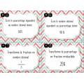 Associer fraction, nombre décimal et pourcentage