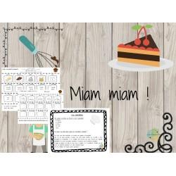 Activités mathématiques Miam Miam