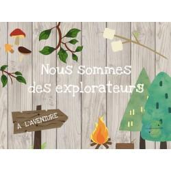 Nous sommes des explorateurs