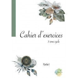 Cahier exercices Partie 1