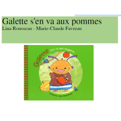 Galette s'en va aux pommes