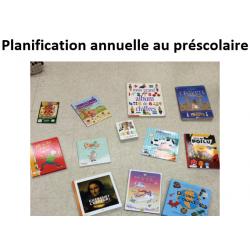 Planification annuelle préscolaire