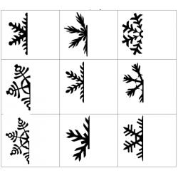 La symétrie : les flocons