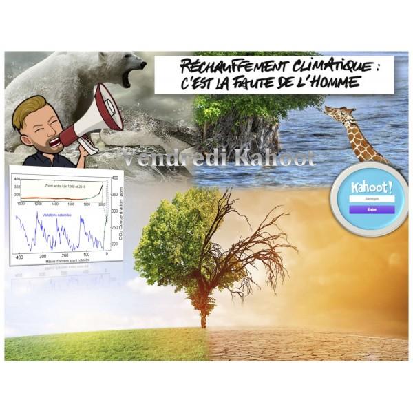 Réchauffement climatique: la faute de l'homme ?