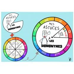 roue des homonymes/homophones 2