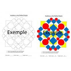 Mandala Mathématiques 1