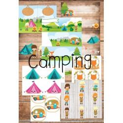 Étiquettes Camping