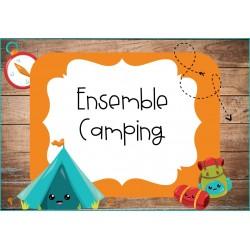 Ensemble Décor Camping