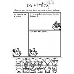 Plus, moins, autant de Pirates