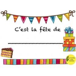 Affiche d'anniversaire