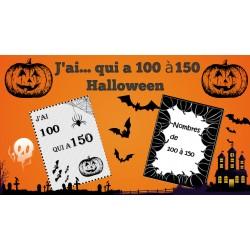 J'ai... qui a ... 100 à 150 Halloween