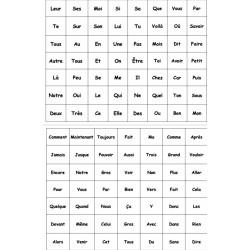 Puissance 4  de mots outils (Connect 4)