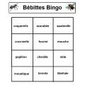 Bébittes Bingo