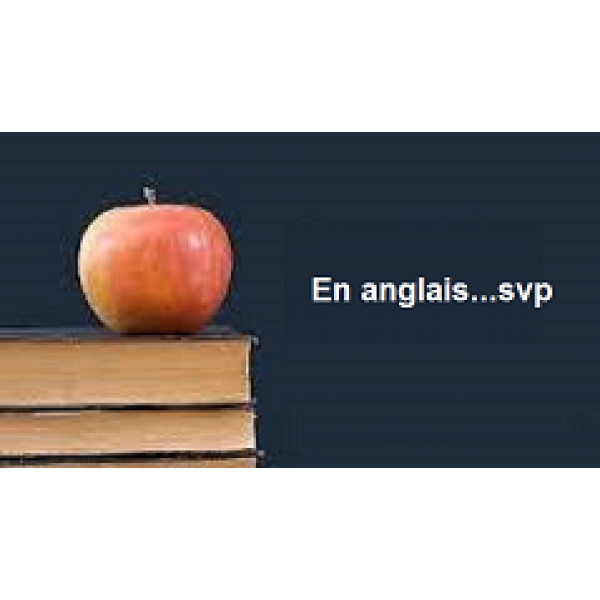 Anglais langue seconde
