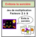 Halloween et la multiplication