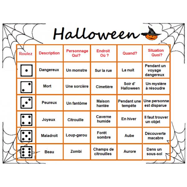 Roule un conte d'Halloween