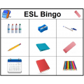 ESL Bingo (Anglais langue seconde)