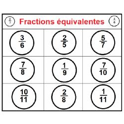 Bingo fractions équivalentes