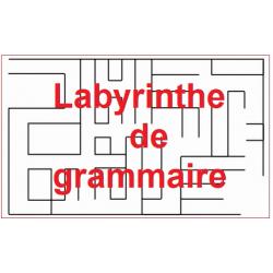 Labyrinthe de grammaire