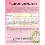 Étude de vocabulaire