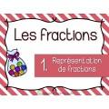 Représentation de Fractions ** Cartes à tâches