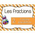 Fractions équivalentes - Cartes à tâches