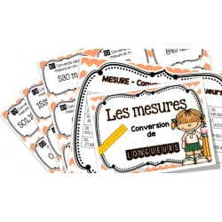 Conversion de longueurs - Cartes à tâches !