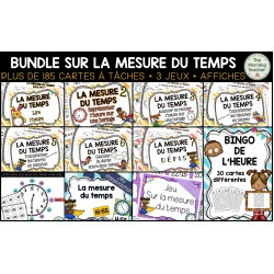 BUNDLE SUR LA MESURE DU TEMPS !