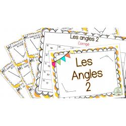 Les angles 2 - Cartes à tâches !