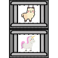 Les barreaux des cages