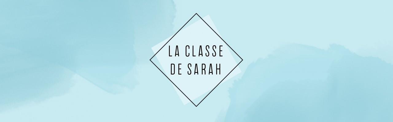 La classe de Sarah