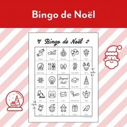 Bingo de Noël (30 planches de jeu)