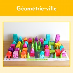 Géométrie-ville - La ville géométrique