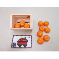 Transport de citrouilles (atelier Halloween)