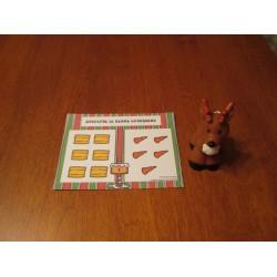 Rudolphe le renne gourmand