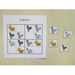 Sudoku (oiseaux de la basse-cour)