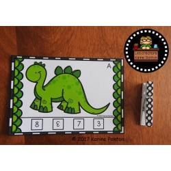 Dinosaure à plaques