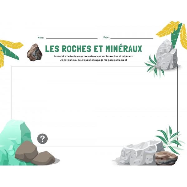 Connaissances antérieures- roches et minéraux